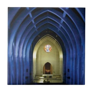 Carreau Voûtes dans l'église bleue