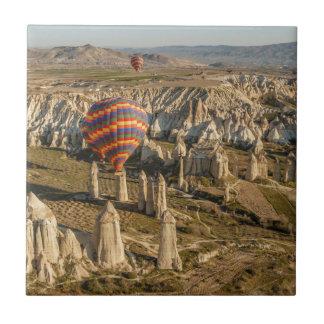 Carreau Vue aérienne des ballons à air chauds, Cappadocia