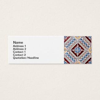 Carreaux de céramique mini carte de visite