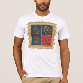 Carrés d'échecs t-shirt