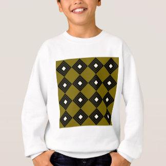 Carrés vintages d'ethno d'or du Maroc Sweatshirt