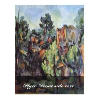 Carrière chez Bibémus par Paul Cézanne (la meilleu Prospectus