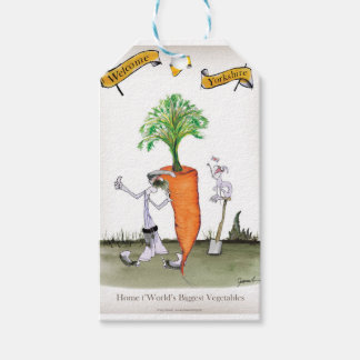 Carrot du monde de Yorkshire d'amour le 'plus Étiquettes-cadeau