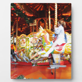 Carrousel Plaque Photo