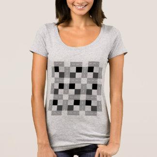 Carta/prochain T-shirt de niveau de cou scoop des