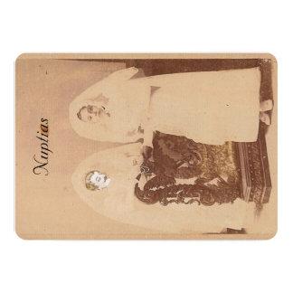 Cartão de casamento carton d'invitation  12,7 cm x 17,78 cm