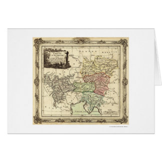 Carte 1792 de Saint Empire Romain
