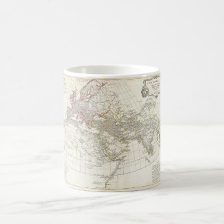 Carte 1794 d Anville du monde antique Mug