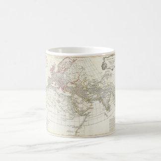 Carte 1794 d'Anville du monde antique Mug Blanc