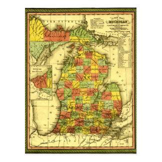 Carte 1853 vive de l'allégeance vraie MI