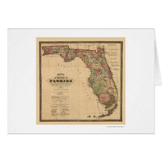 Carte 1874 de chemin de fer de la Floride