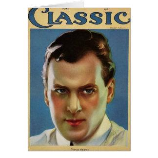 Carte 1923 de magazine de film de cru de Thomas