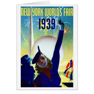 Carte 1939 de l'Exposition universelle de New York