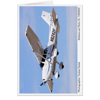 Carte 2008 de note de photo de PS de Cessna 172