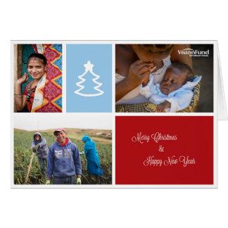 Carte 2014 de Noël de VisionFund