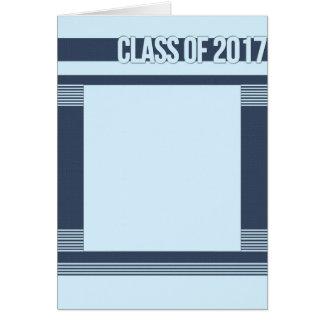 Carte 2017 moderne d'obtention du diplôme