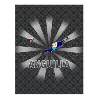 Carte 2,0 de drapeau d'Anguilla