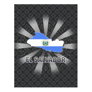 Carte 2,0 de drapeau du Salvador