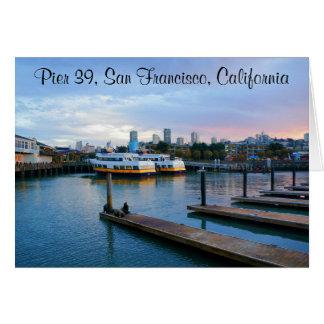 Carte #2-2 du pilier 39 de San Francisco