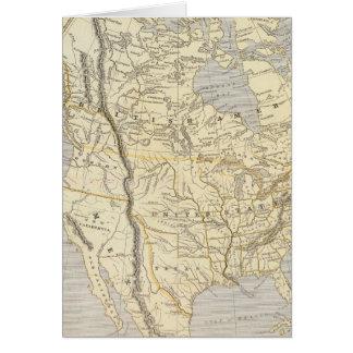Carte 2 d'atlas de l'Amérique du Nord