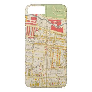 Carte 2 d'atlas de Yonkers Coque iPhone 7 Plus