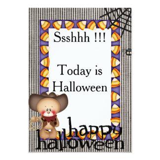 Carte 2 d'invitation de Halloween