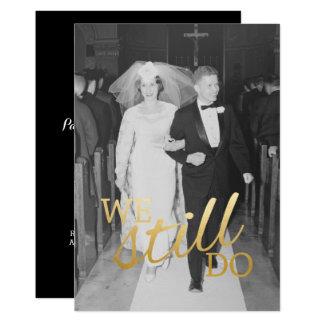 Carte 30ème Anniversaire de mariage avec la photo - nous