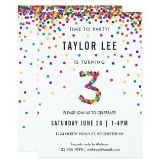 Super Invitations & Faire-part Arc En Ciel personnalisés | Zazzle.fr WF43