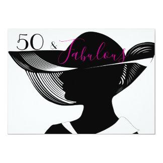 Carte 50 et conception | élégante fabuleuse d'art déco