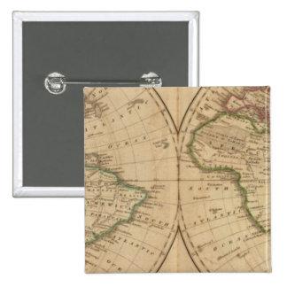 Carte 7 du monde badge
