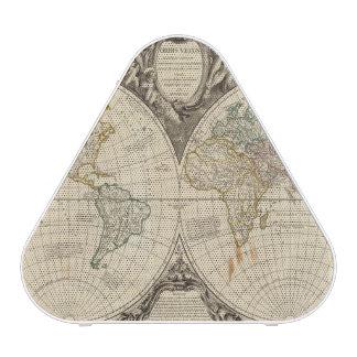 Carte 8 du monde haut-parleur bluetooth