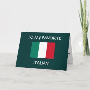 Invitations Faire Part Cartes Joyeux Anniversaire Italien Zazzle Fr
