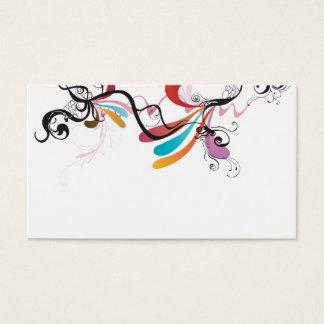 Carte abstraite de profil