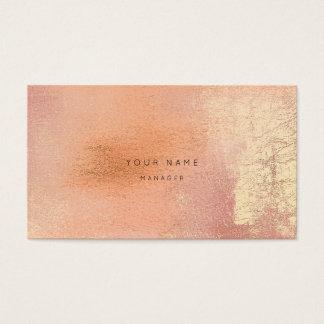 Carte abstraite de rendez-vous de Metalli d'or de