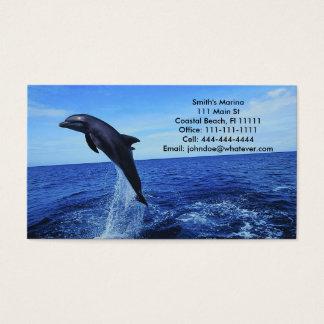 Carte Affaire-Personnelle de dauphin