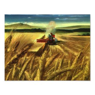 Carte Affaires agricoles vintages de ferme, agriculture