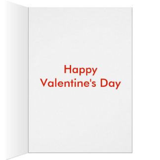Carte aimée de Saint-Valentin