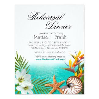 Carte Aloha Frangipani de Plumeria de dîner de