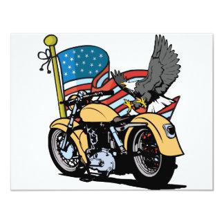 Carte Américain Eagle de cycliste