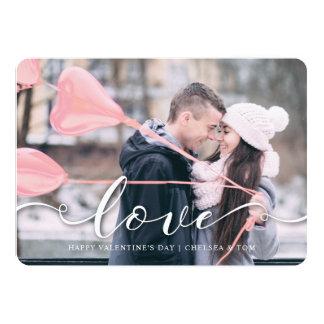 Carte Amour rose de PhotoCard | de Saint-Valentin -