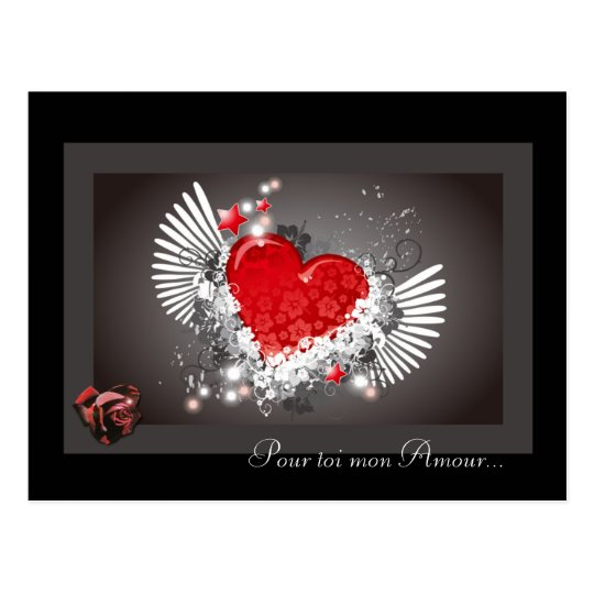 carte amour saint valentin