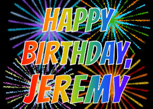 Cadeaux Anniversaire Jeremy Zazzle Fr