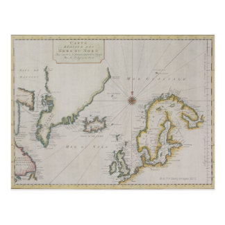 Carte antique de la Scandinavie 2