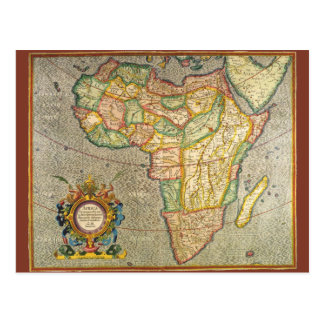 Carte antique de Mercator de Vieux Monde de