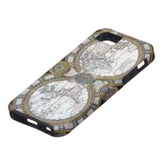 Carte antique du monde par Claude Auguste Berey, Coques Case-Mate iPhone 5