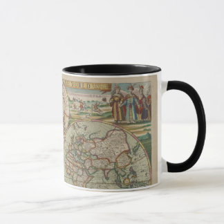 Carte antique du monde, tasse/tasse mugs