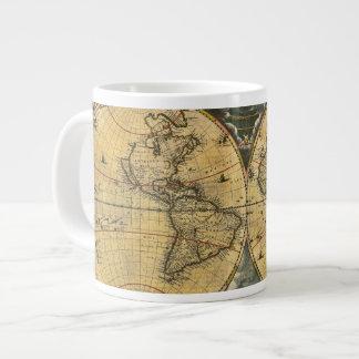 Carte antique J. Blaeu 1664 du monde Mug Jumbo