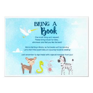 Carte Apportez un livre - l'arche de Noé de zoo