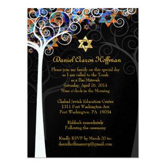 Carte Arbre de PixDezines de mitzvah de la vie