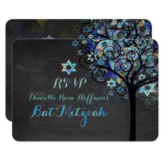 Carte Arbre de PixDezines RSVP de la vie Mitzvah/tableau